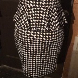 Soprano Dresses - Soprano Houndstooth Dress NW-NWOT